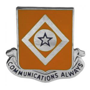 212th Signal Battalion Distinctive Unit Insignia