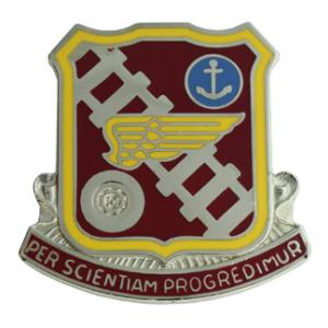 Transportation School Distinctive Unit Insignia
