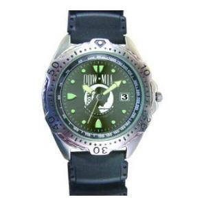 RAM Diver Watch with Date Display (POW/MIA)