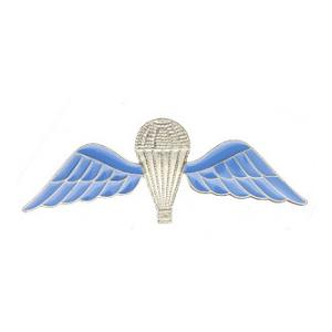 British Parachutist Wings (Blue and Silver)