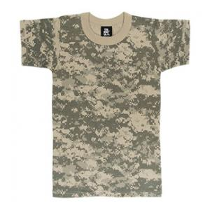 Youth Camouflage T-shirt (Poly / Cotton) ACU