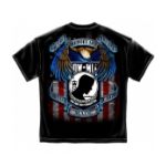 "POW*MIA ""Never Made it Home"" T-Shirt (Black)"