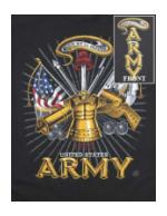 'This We'll Defend' United States Army T-Shirt (Black)