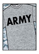 Army T-Shirt (Gray)