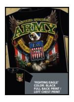 Military Short Sleeve T-Shirts