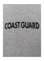 Coast Guard T-shirt (Gray)