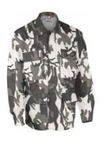 4 Pocket BDU Shirt (Cotton/Poly Ripstop)(Urban Camo)