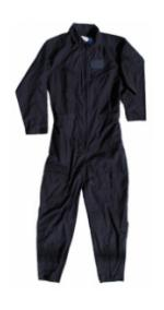 Air Force Style Flight Suit (Navy Blue)