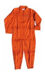 Air Force Style Flight Suit (Orange)