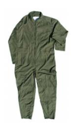 Air Force Style Flight Suit (Green)