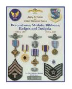 US Air Force Decorations, Medals, Ribbons & Insignia