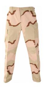 6 Pocket BDU Pants (Cotton Rip-Stop)(3 Color Desert)