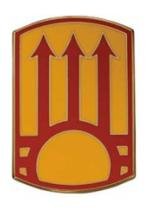 111th Manuever Enhancement Brigade Combat Service I.D. Badge