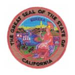 California State Seal Patch