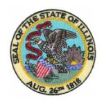 State Flag and State Seal Patches