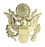 Army Officer Cap Badge (Male)