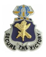Army Civil Affairs Regimental Crest Pin