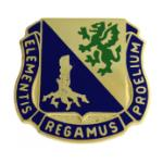 Army Chemical Regimental Crest Pin