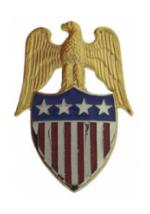 Aide to General Insignia