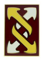 143rd Field Sustainment Brigade Combat Service I.D. Badge