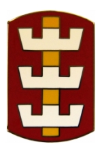 130th Engineer Brigade Combat Service I.D. Badge