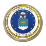 Air Force Automobile Emblem