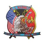 U.S. Marines These Colors Never Run (Back Patch)