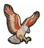 Eagle (Back Patch)