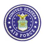 U.S. Air Force Round (Back Patch)