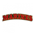 Marine Text Back Patch