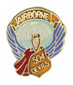 504th Airborne Infantry Regiment Pin