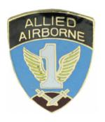 1st Allied Airborne Pin