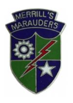 Merrills Marauders Task Force Pin
