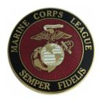 US Marine Corps Leage (Large) Pin