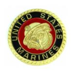 US Marine Bulldog Pin