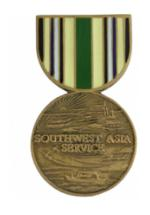 Southwest Asia Service (Hat Pin)