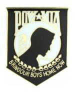 POW * MIA (Large) Pin