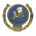 Seabees Wreath Pin