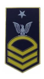 Navy Senior Chief Petty Officer Hat Pin