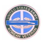 Korean War Veteran United States Army Pin