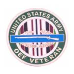 Operation Enduring Freedom Veteran Pin