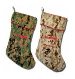 Digital Camo Christmas Stocking