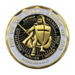 Soldier Armor Of God Challenge Coin