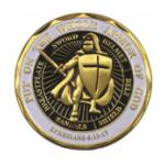 Infantry Armor Of God Challenge Coin