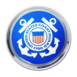 Coast Guard Automobile Emblem