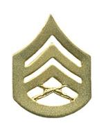 Marine Corps Staff Sergeant (Metal Chevron) (Dress)
