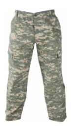 Army Digital 8 Pocket ACU Pants (Nyco Ripstop)