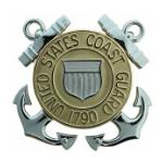 Coast Guard Cap Badges