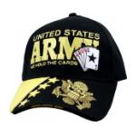 U.S. Army We Hold the Cards Cap (Black)