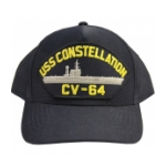 USS Constellation CV-64 Cap (Dark Navy)